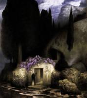 Keller Study - Tomb of Bocklin