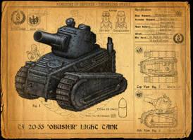 Tank Design - Technical Sheet