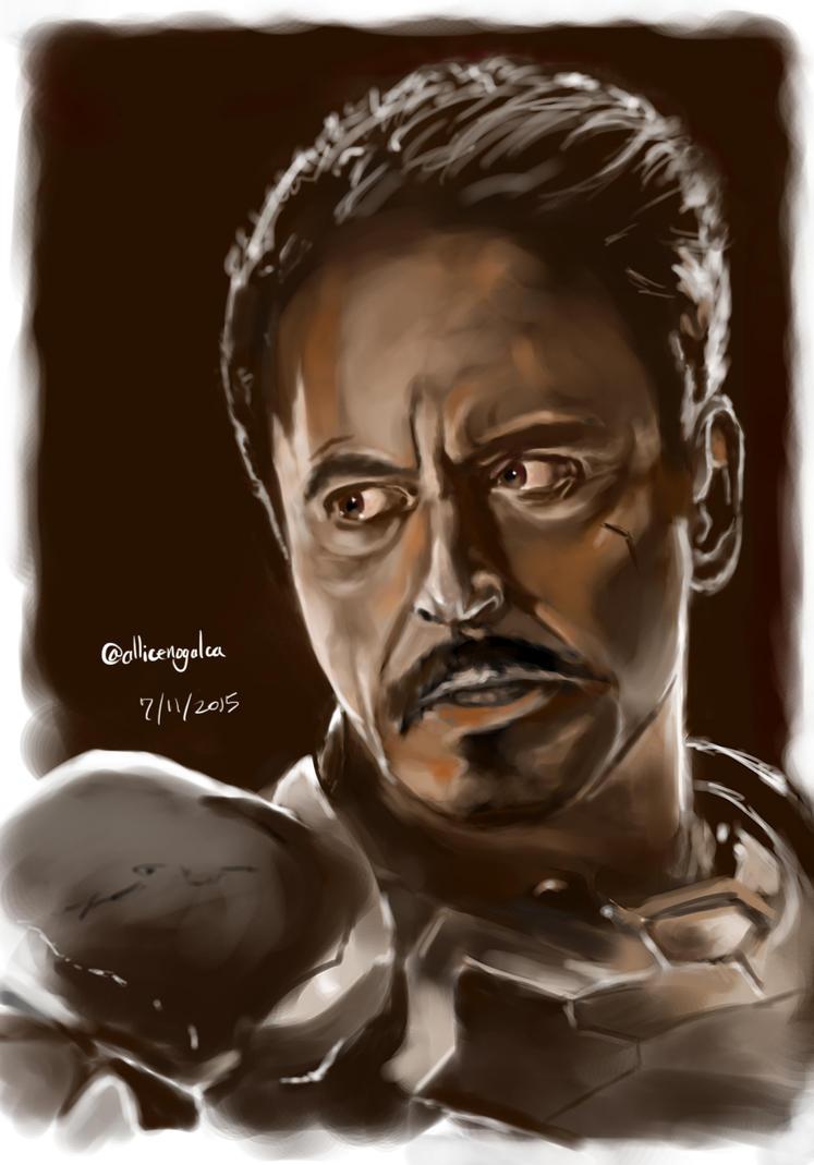 Tony Stark by MrYo