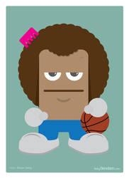 Basketball player by Bendsen