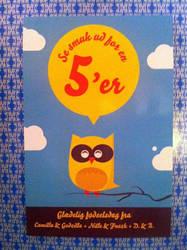 Owl birthday card photo by Bendsen