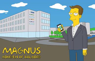 Simpsons caricature by Bendsen