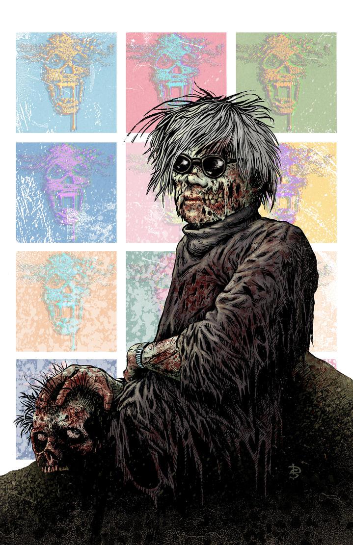 Zombie Warhol by DougSirois