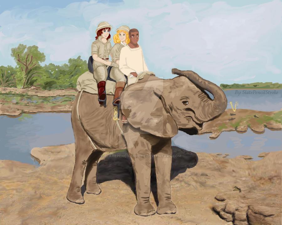 Safari by SlatePencilStroke