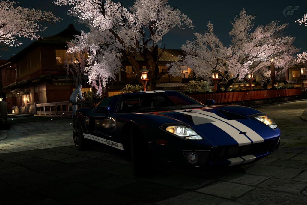 Ford Gt In Japan By Slimedile