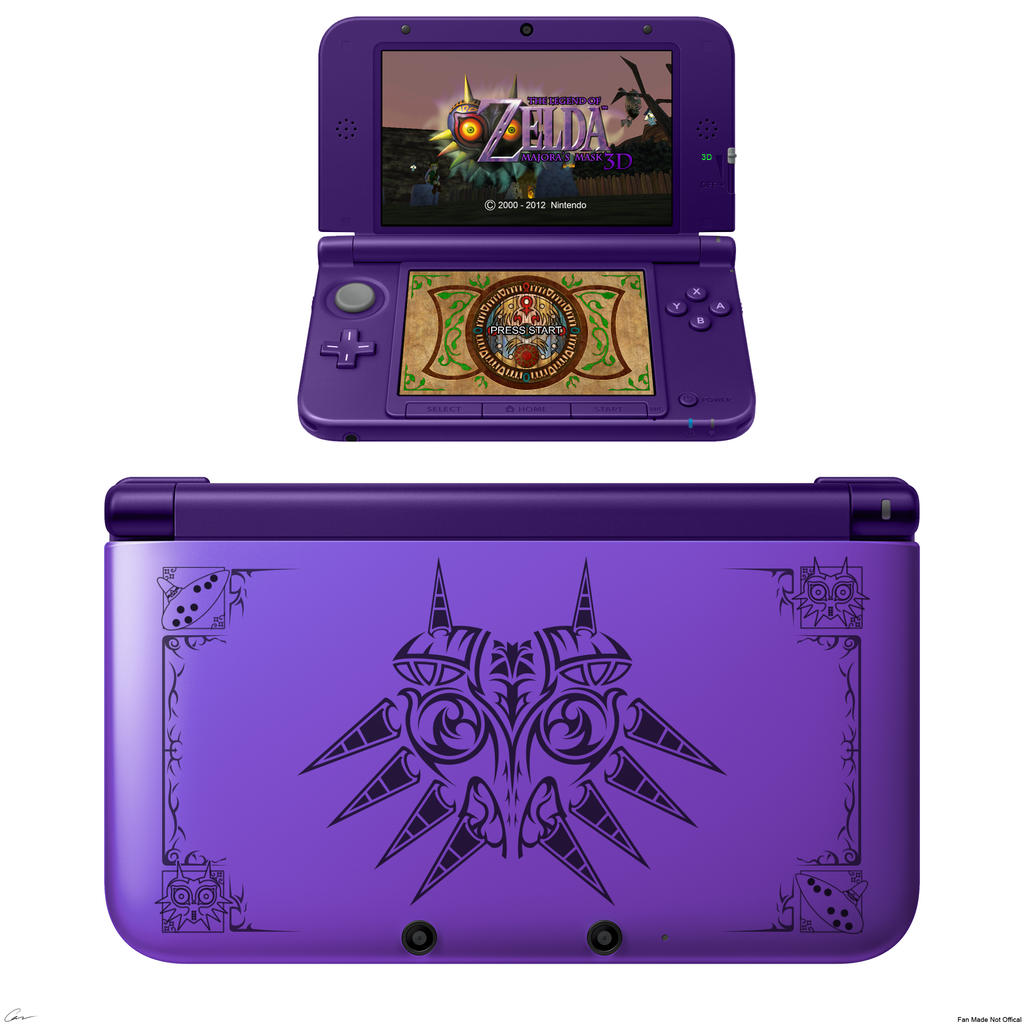 Majora's Mask 3DS XL by Sharindan-dragon