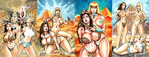 Ankha's Revenge collage by icejaw19