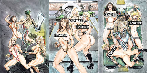 Return to Labyrinth - Censored Covers by icejaw19