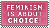 Feminism is about choice by ilovemybishies87