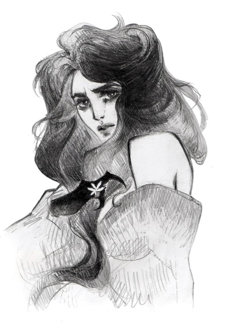 random sketch by Catlait