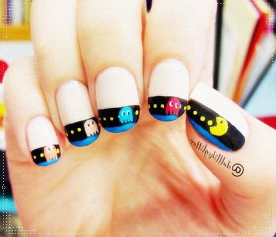 Funny Nail Art: Funny-nail-art-designs-06 By AbyFine On DeviantArt