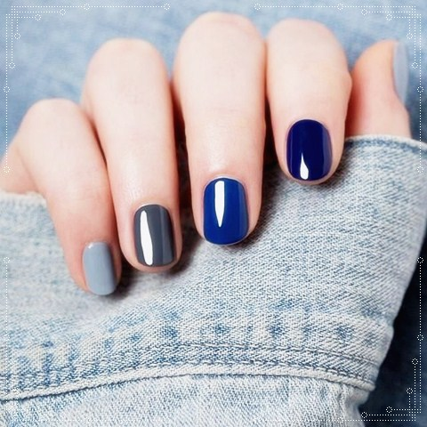 Blue Nail Art Designs 07 By Abyfine On Deviantart