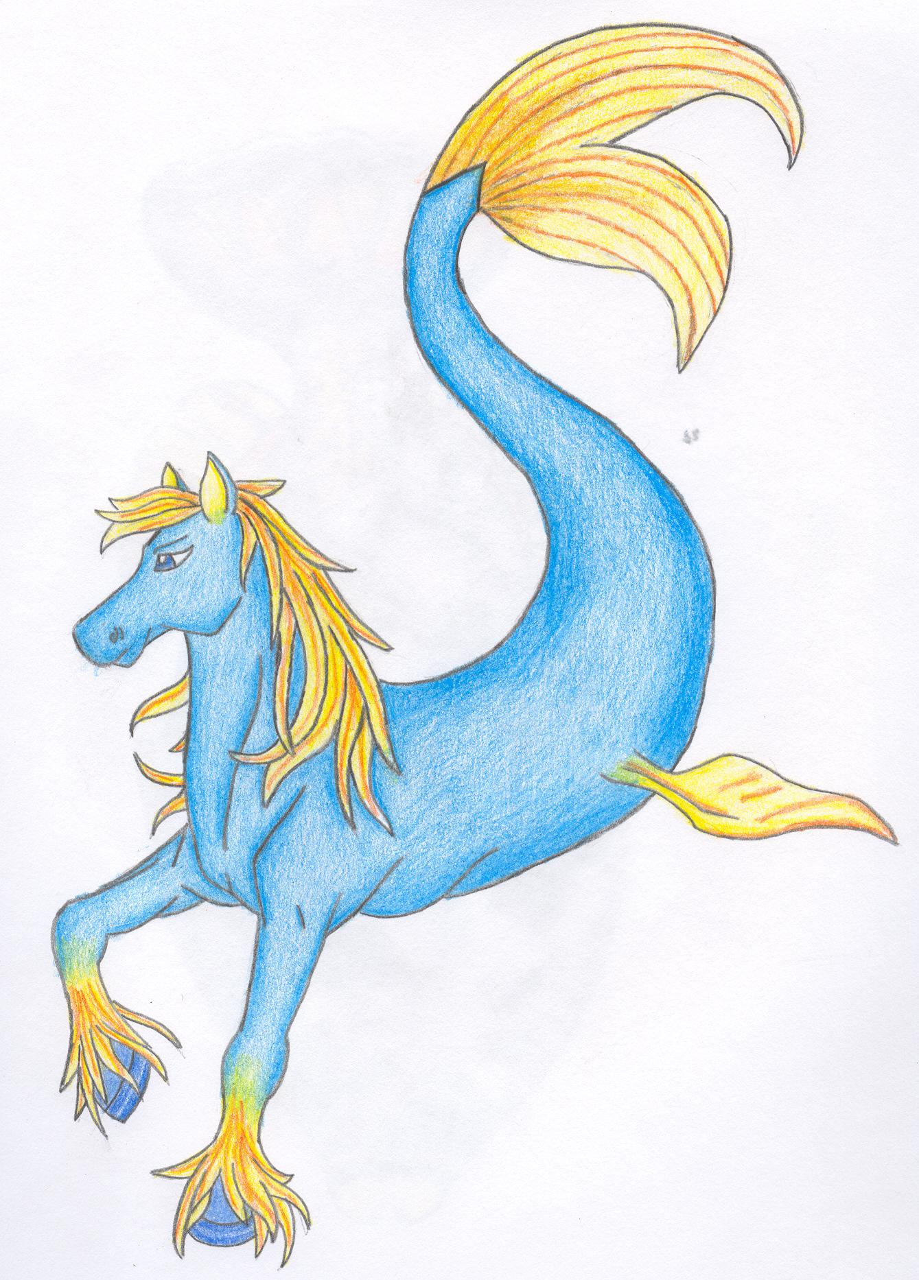 Hippocampus dragon manga