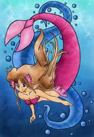 shoshona the mermaid by aquatica-monster