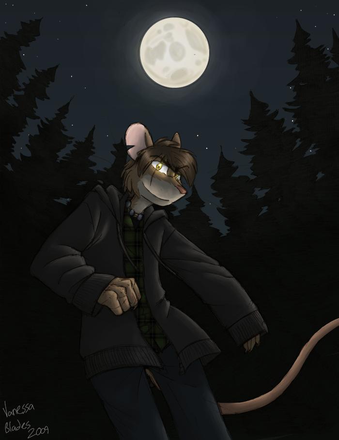 When the moon is full... by Senav
