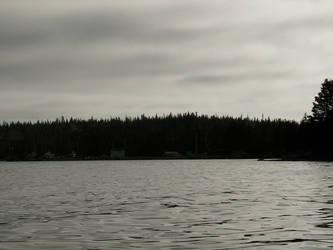 Monochrome harbour