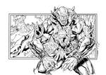 Beast-Man By Kevin Sharpe