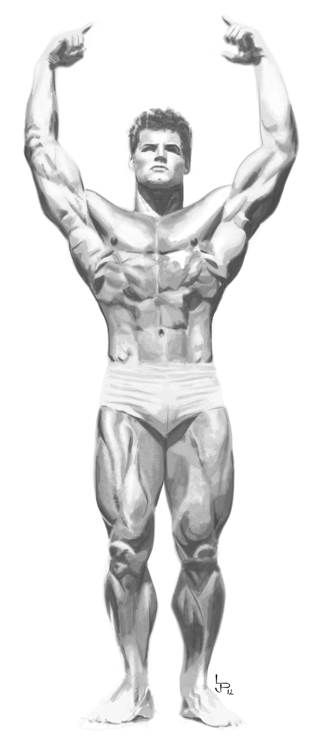 steve reeves height weight