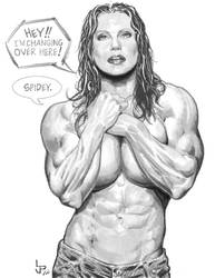 Sensational She-Hulk by LuisPuig