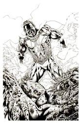 Shazam devastates Devastator Batman option 1 by LuisPuig