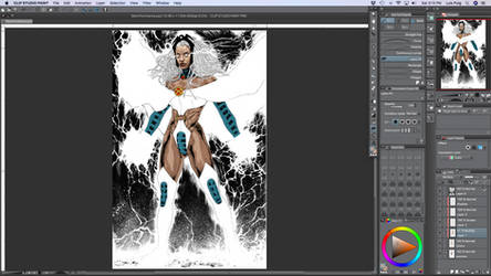Storm Commission Color WIP by LuisPuig