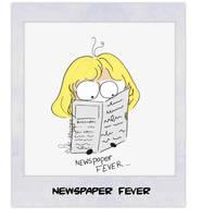 Newspaper fever