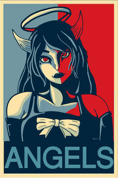 Alice Angel ''ANGELS'' Presidential Poster