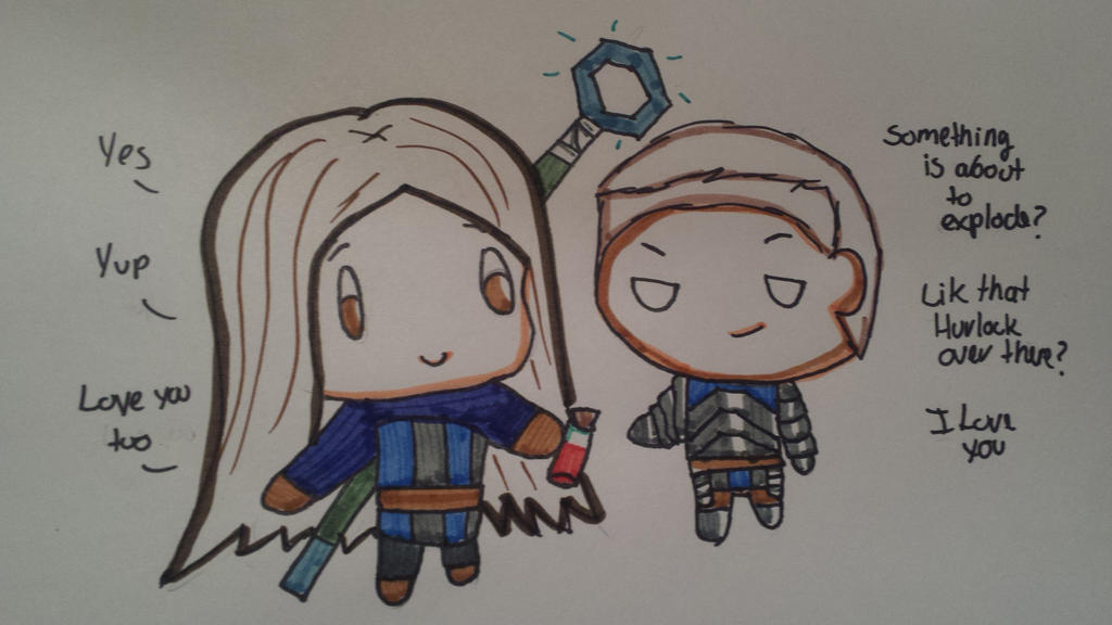 Chibi Wardens by TheAnimangaGirl