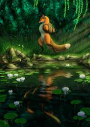 Little Fox's Little Adventure by kippycube