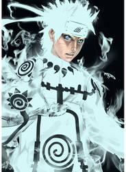Naruto - Awakening Six Sage by Artipelago