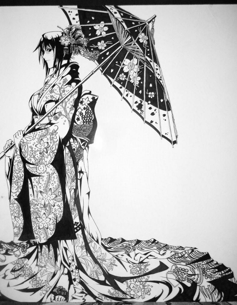 Display 3 - Kimono Girl by Artipelago