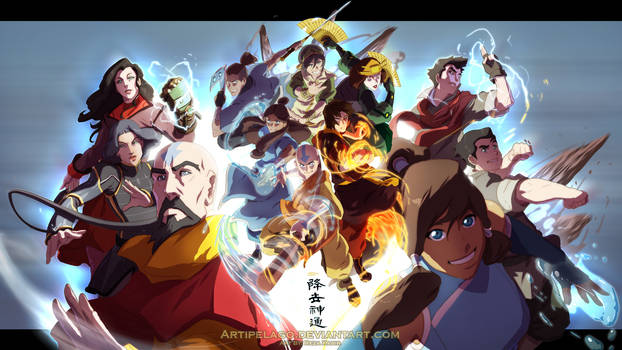 WP Legend of the Avatar