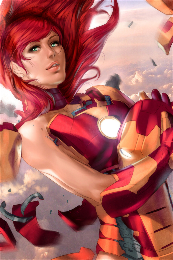 Pepper Potts by Artipelago
