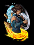 Korra Book 4 - Master of Elements