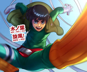 Rock Lee's Wintertime of Youth