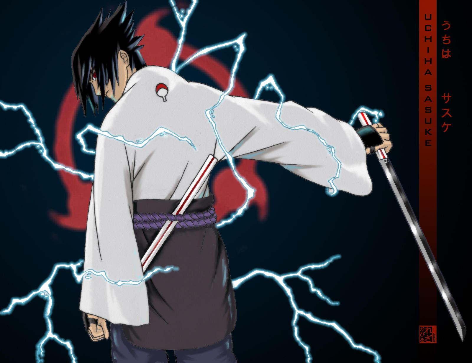 Uchiha Sasuke OLD by Artipelago