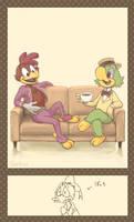 Tea Break by sakutom