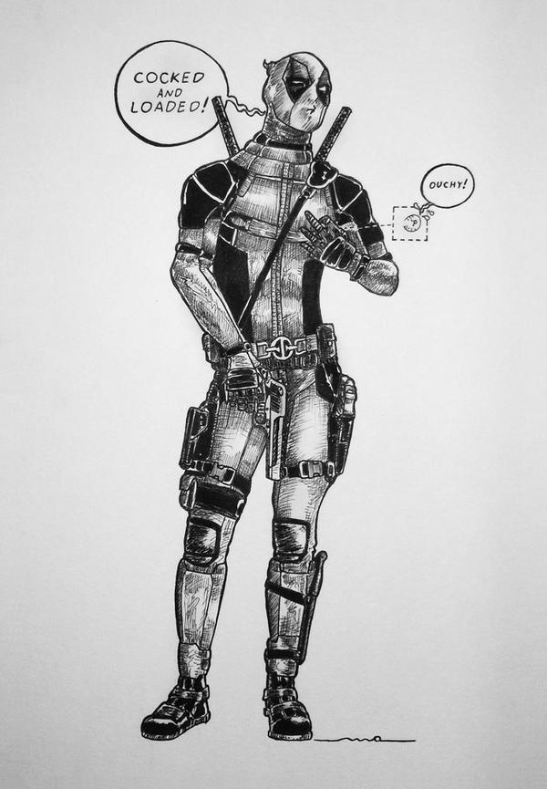 Deadpool by odeusum