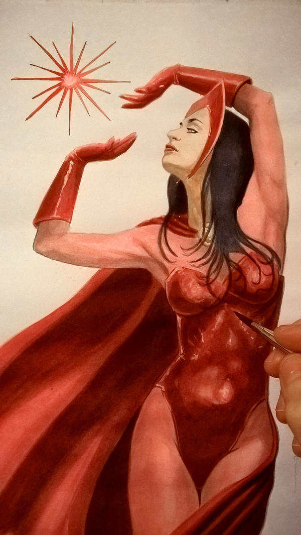 Scarlet Witch by odeusum