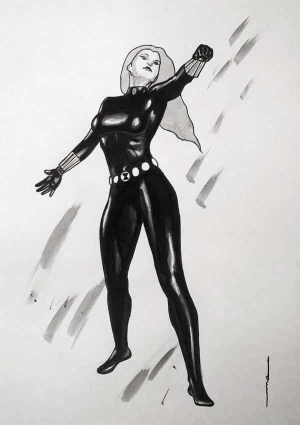 Black Widow by odeusum