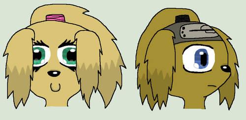 Teidara And Mitsuki Head Doodles