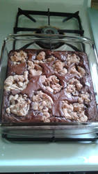 Most Delicious Cookie Brownies