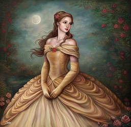 Belle by Dim-Draws