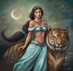 Jasmine by Dim-Draws