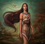 Pocahontas by Dim-Draws
