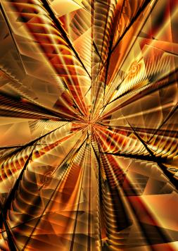 Abstract Fractal by MelanieMertens