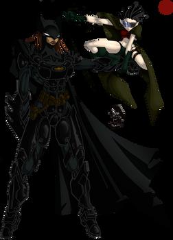 Batwoman and Lark