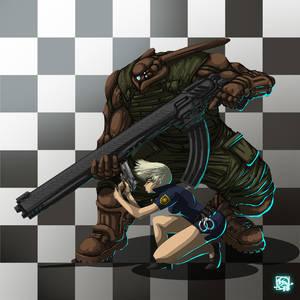 New Cop from Badside and her Cyborg Boyfriend
