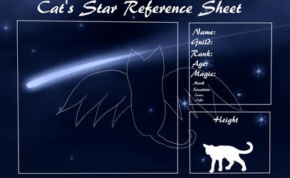 Cat's Star Guild Blank Reference by StarryAlpha