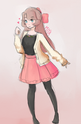girl by kaesamii